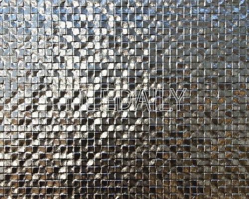Metallic Silver Tiles