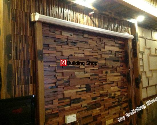 3D Wood Mosaic Tile Backsplash Wall Tile Wood Tile Board