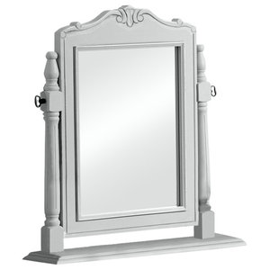 Grey Dressing Table Swing Mirror - Elise Grey Range