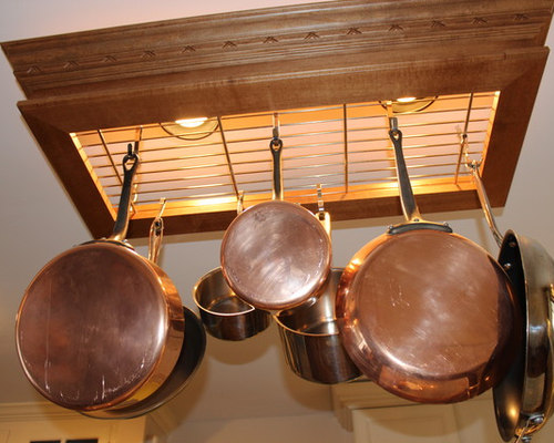 Kitchen Remodel, Shaker Heights, OH #2 - Pot Racks And Accessories