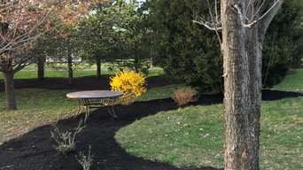 Mulch bed redesign