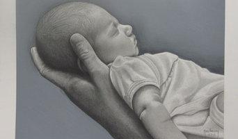 Portraits - Baby Addison by Marc Potocsky