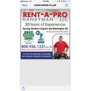 Rent-A-Pro Handyman & Home Improvement Service LLC's photo
