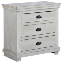 Farmhouse Nightstands And Bedside Tables by Progressive Furniture