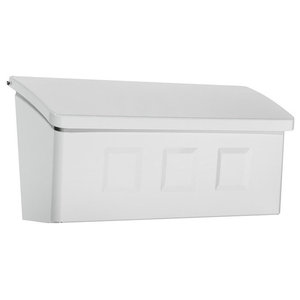 Wayland Wall-Mount Mailbox, White