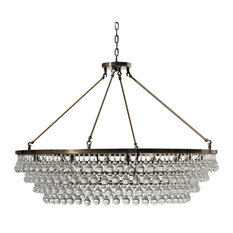 Extra large chandeliers houzz lightupmyhome celeste extra large crystal chandelier antique brass 10 lights chandeliers aloadofball Image collections