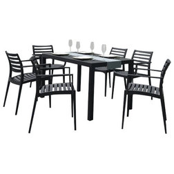 Contemporary Outdoor Dining Sets by Compamia