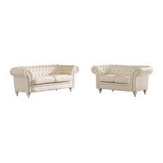 ESF Wholesale Furniture - 287 Living Room Set, Sofa, Loveseat - Living Room Furniture Sets