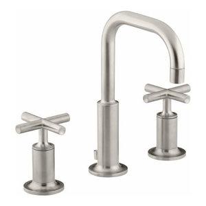 Kohler K-14406-3 Purist Widespread Bathroom Faucet
