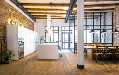 Cocina de la semana: Un espacio cálido en un antiguo almacén