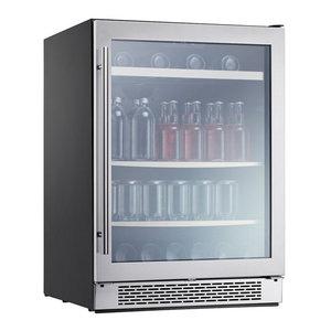 Zephyr PRB24C01BG Presrv™ 24 inch Wide 112 Can Capacity Beverage Center with Pr