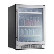 "Zephyr PRB24C01BG Presrv 24""W 112 Can Capacity Beverage Center - Stainless"