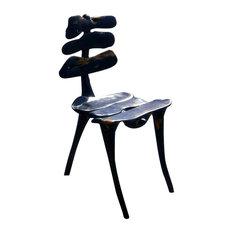Vertebrae Solid Ebony Chair