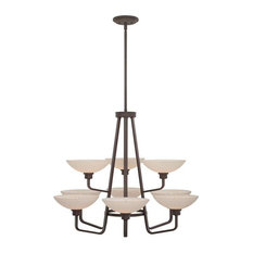 Quoizel 9-Light Phoenix Chandelier in Western Bronze - PHO5009WT