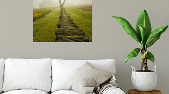 Calming Morning Landscape Photography Canvas Wall Art Print