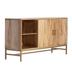 Nimes Wood Media Cabinet