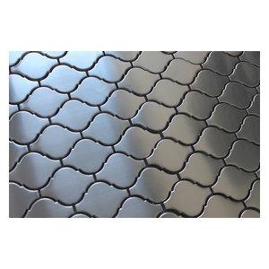 Stainless Steel Arabesque Mosaic Tile, Sample
