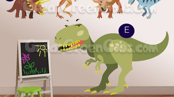 Really BIG Dinosaur Wall Decals - wall decor & art for boys room