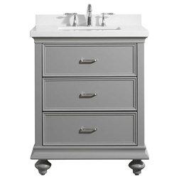 Vintage Traditional Bathroom Vanities And Sink Consoles by Vinnova