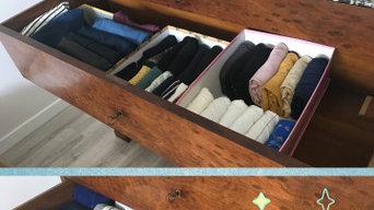 Pliage et rangement de vêtements