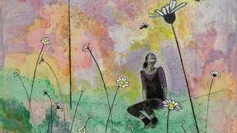 """from the exhibition """"Shattered"""" 2012, daisies"""