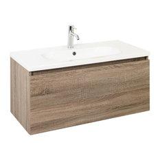 - Reuben wall hung Vanity - Bathroom Vanities