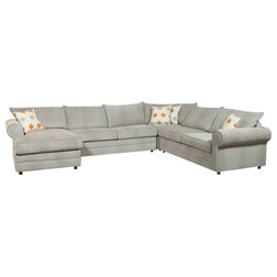 Transitional Sectional Sofas by HedgeApple
