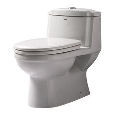 atlas inc ariel platinum european toilet with dual flush toilets - Power Flush Toilet