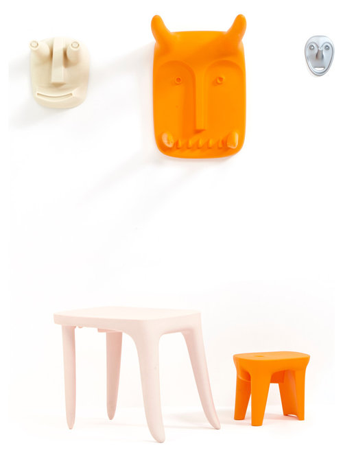 VODO MASKO   Kids Table   Stool   Kids Tables And Chairs. Modern Contract Furniture by Philippe Starck