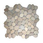 Sliced Java Tan Pebble Tile