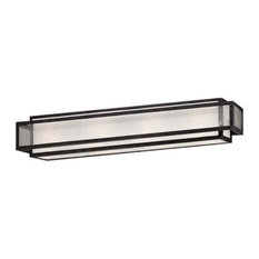Minka Lavery 4874-283 4 Light Bathroom Bath Bar - Grey