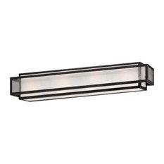 Minka Lavery 4874-283 4 Light Bathroom Bath Bar - Grey