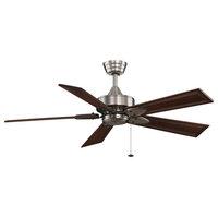 Windpointe Five Blade Ceiling Fan (Motor Only Pewter