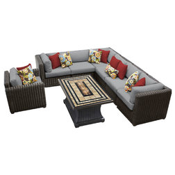 Tropical Outdoor Sofas by Burroughs Hardwoods Inc.