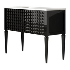 Horchow Mirrored Media Cabinet | Houzz