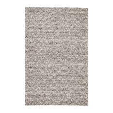 Jaipur Living Karlstadt Handmade Solid Gray/Silver Area Rug, 8'x10'