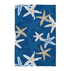 Matira Starfish Area Rug, 2'x3'