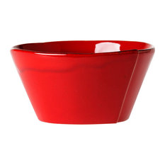 Lastra Red Stacking Cereal Bowl