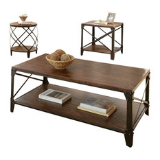 steve silver company steve silver company winston 3 piece cocktail table set coffee table