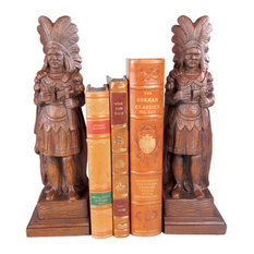 Cigar Store Indian Bookends