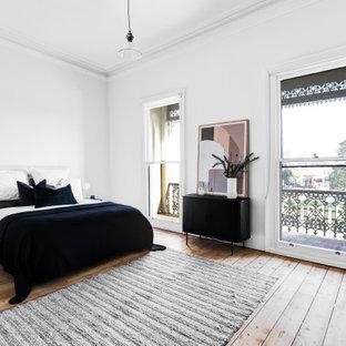 Scandinavian bedroom in Melbourne.