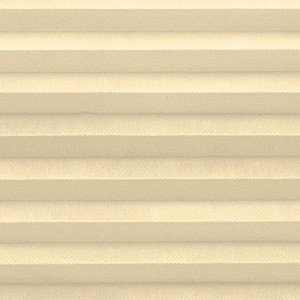 """Custom Top Down Bottom Up Cordless Cell Shades, 24""""x65"""", Ivory Beige"""