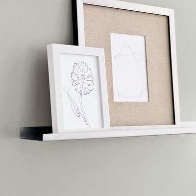 Modern Picture Frames Metal Picture Ledge