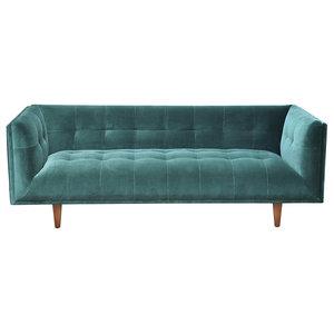 Stroud Green Velvet Sofa