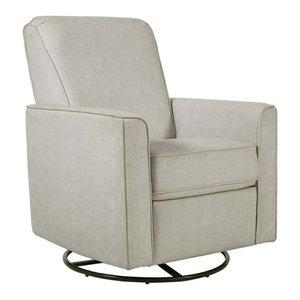 Super Pri Harmony Fabirc Swivel Glider Recliner In Carlton Dove Spiritservingveterans Wood Chair Design Ideas Spiritservingveteransorg