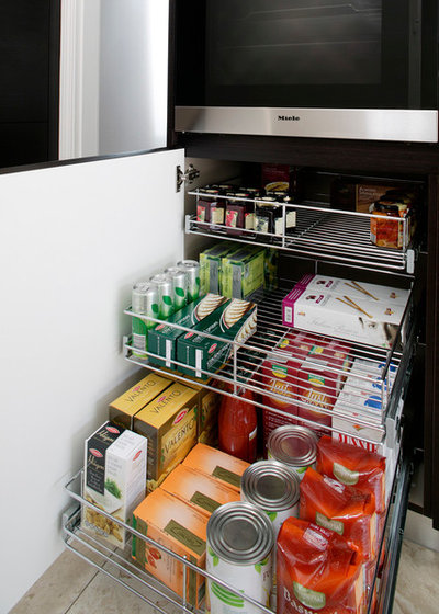 by Tansel Stainless Steel Pull Out Storage