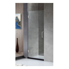 """ANZZI Passion 24"""" x 72"""" Frameless Shower Door, Polished Chrome"""