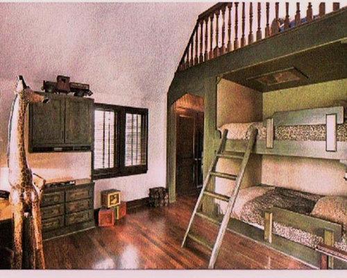 Tudor style bedroom houzz for Tudor style bedroom