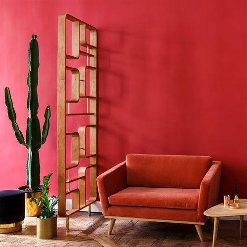 midcentury living room design ideas renovations photos. Black Bedroom Furniture Sets. Home Design Ideas