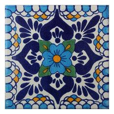 2x2 36 pcs Montijo Talavera Mexican Tile